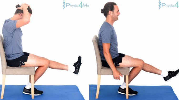 Sitting Nerve Flossing Advanced