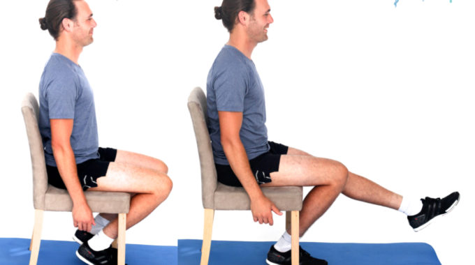 Sitting Knee Extension